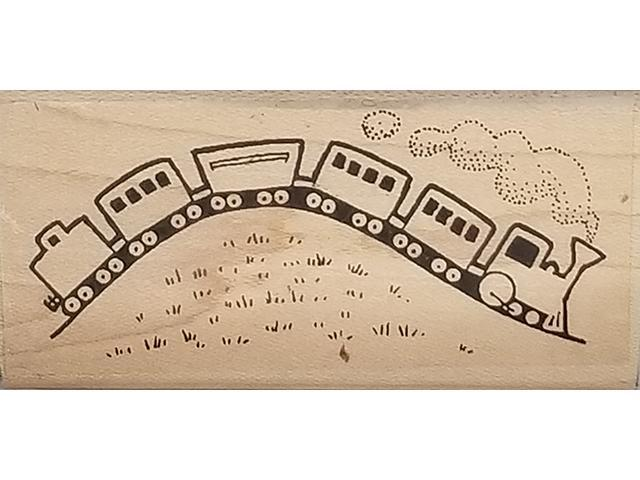 Stamps by Impressions Toy Train Rubber Stamp #929
