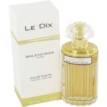 Balenciaga Le Dix Perfume 3.3 Oz Eau De Toilette Spray  image 2