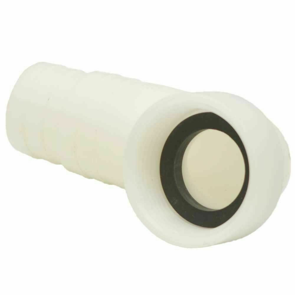 Attwood Boat Hose Barb Elbow Connector 3891-1 Fitting 1/8 - 1/4 Inch 3891-1