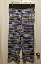 Victoria's Secret Pajama Pants Cotton Blend Multicolor Size L Short Pre-owned - $14.39