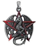 YTC Summit Gothic Red Pentagram Star Dragon Pendant Necklace Jewelry Acc... - $15.79