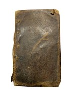 1859 Southern Baptist Psalmody Hymn Leather Book Manly Antique Signed Pr... - $1,484.99