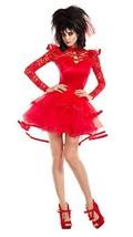 Party King Escarabajo Novia Gótico Vestido Sexy Adulto Mujer Disfraz Hal... - $81.64