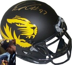 Kony Ealy signed Missouri Tigers Authentic Schutt Alternate Mini Helmet - $44.95