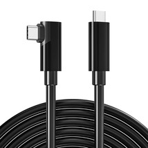 Usb C To Type C 3.0 Cable 16.5Ft 90 Degree For Oculus Quest 2, 5Gbps 3 - $37.99