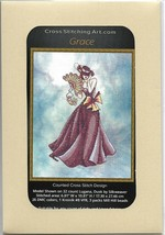 """GRACE"" COMPLETE XSTITCH MATERIALS with Hand dyed aida - $44.54"