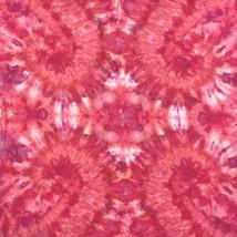 "Handmade Ice Tie Dye Bandana, Bright Pink Swirl, 20"" X 20"", Watercolor I... - $8.06"