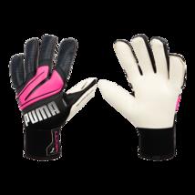 Puma Ultra Grip 1 Hybrid Pro Goalkeeper Gloves GK Soccer Football Black 04169602 - $129.99