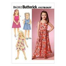 Butterick Patterns B6202CDD Children's/Girls Dress and Culottes, CDD (2-... - $14.70