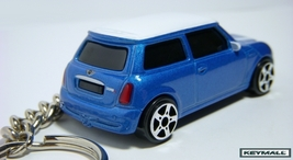 KEY CHAIN BLUE WHITE NEW BMW MINI COOPER S PORT... - $35.98