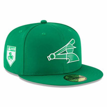 New Era Chicago White Sox 59Fifty 2018 SPD Prolight Fitted Hat Green Siz... - $38.00