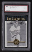 ROY CAMPANELLA 2001 UPPER DECK HALL OF FAMERS GRADED SGS 8 NM MT BROOKLY... - $9.48
