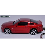 KEY CHAIN NEW 2011~12 RED REDFIRE FORD MUSTANG ... - $26.96