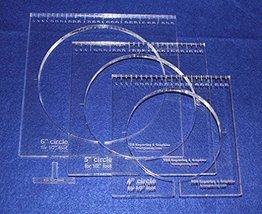 "3 Piece Inside Circle Set - 3/8"" Thick - For 1/2"" Foot - $49.99"