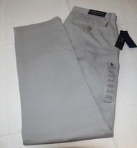 Mens Polo Ralph Lauren 32 X 30 Classic Fit Chino Pant Soft Grey pants 291003 - $94.04
