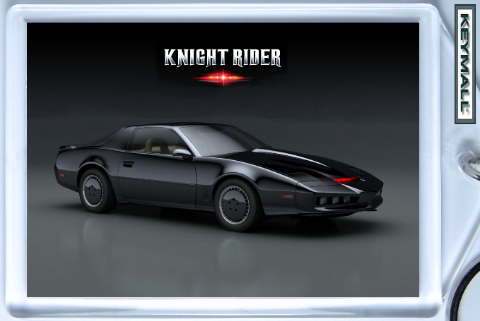 Primary image for KEY CHAIN PONTIAC TRANS AM KNIGHT RIDER FIREBIRD KEYTAG NEW PORTE CLE K2000 KITT