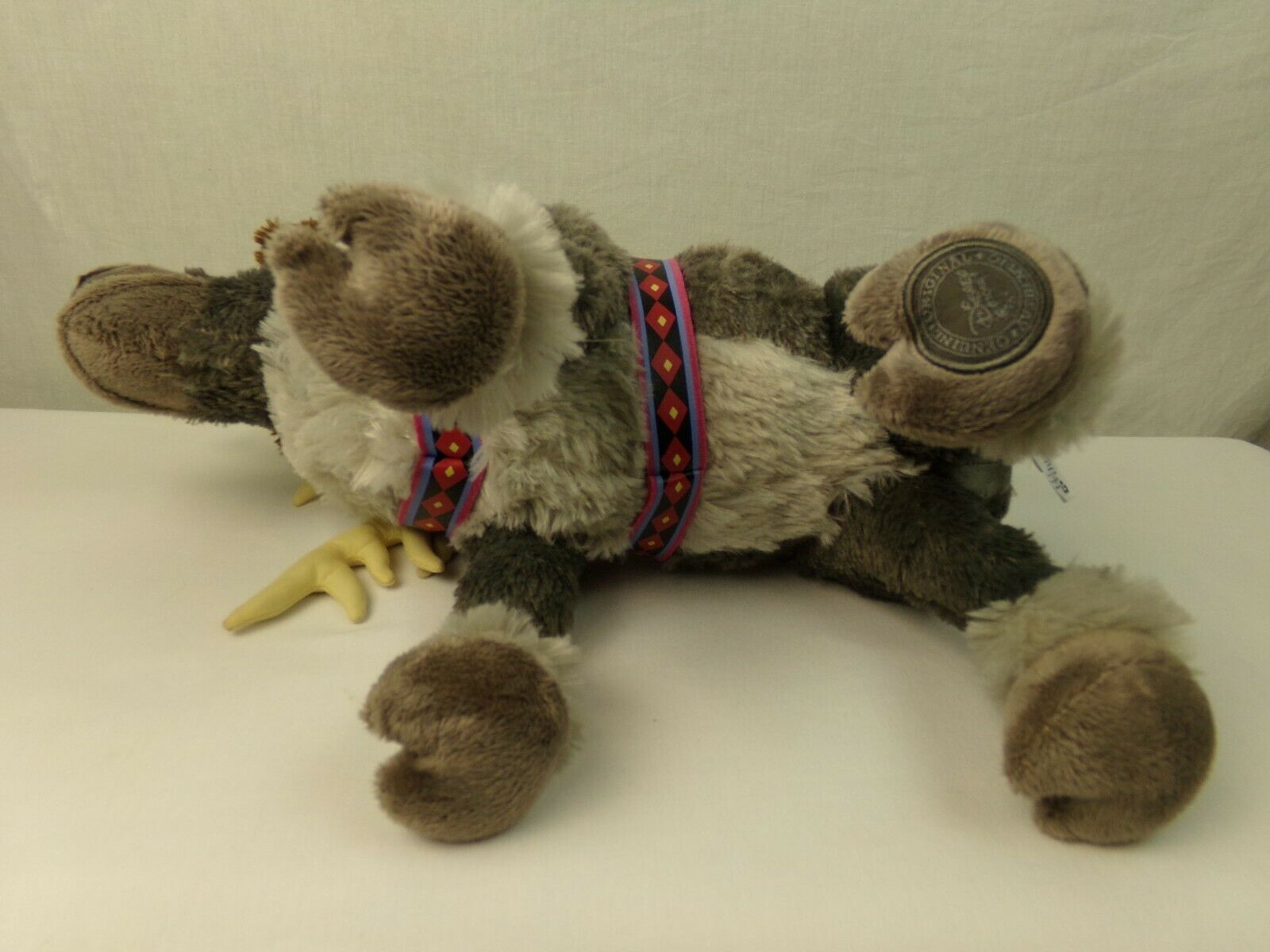 "Disney Store Frozen Sven Reindeer 16"" Plush Stuffed Animal Poseable"