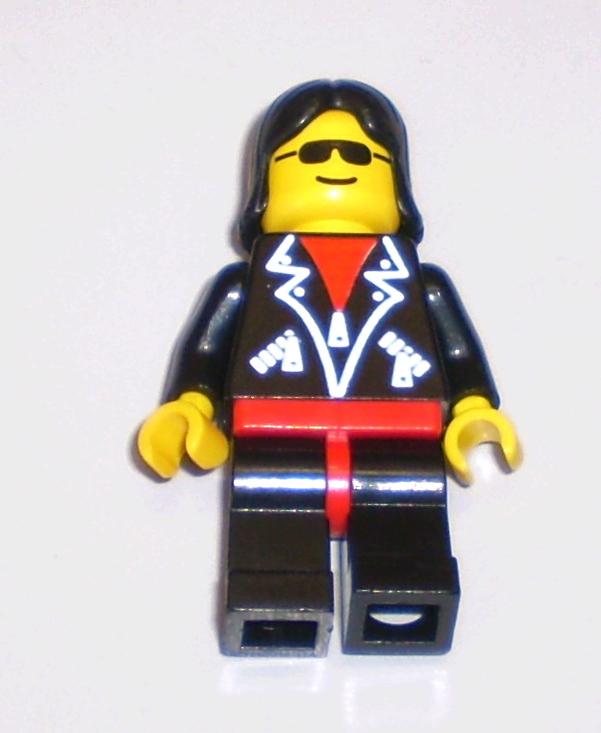 Lego mini figure 1 Rock raiders Axel upper torso body