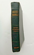 Nelson Bible Revised Standard Version 1952 Illustrated Maps Black Cover  - $14.80