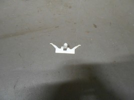 11-15 Chevy Volt Rear Door Thin Rubber Strip Unique Looking White Mounting Clip - $4.99