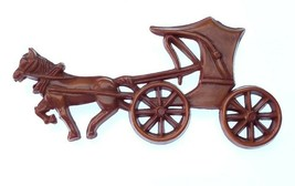 Vintage 1942 Nicholas Barbieri Early Plastic C clasp Horse and Buggy Pi... - $24.99