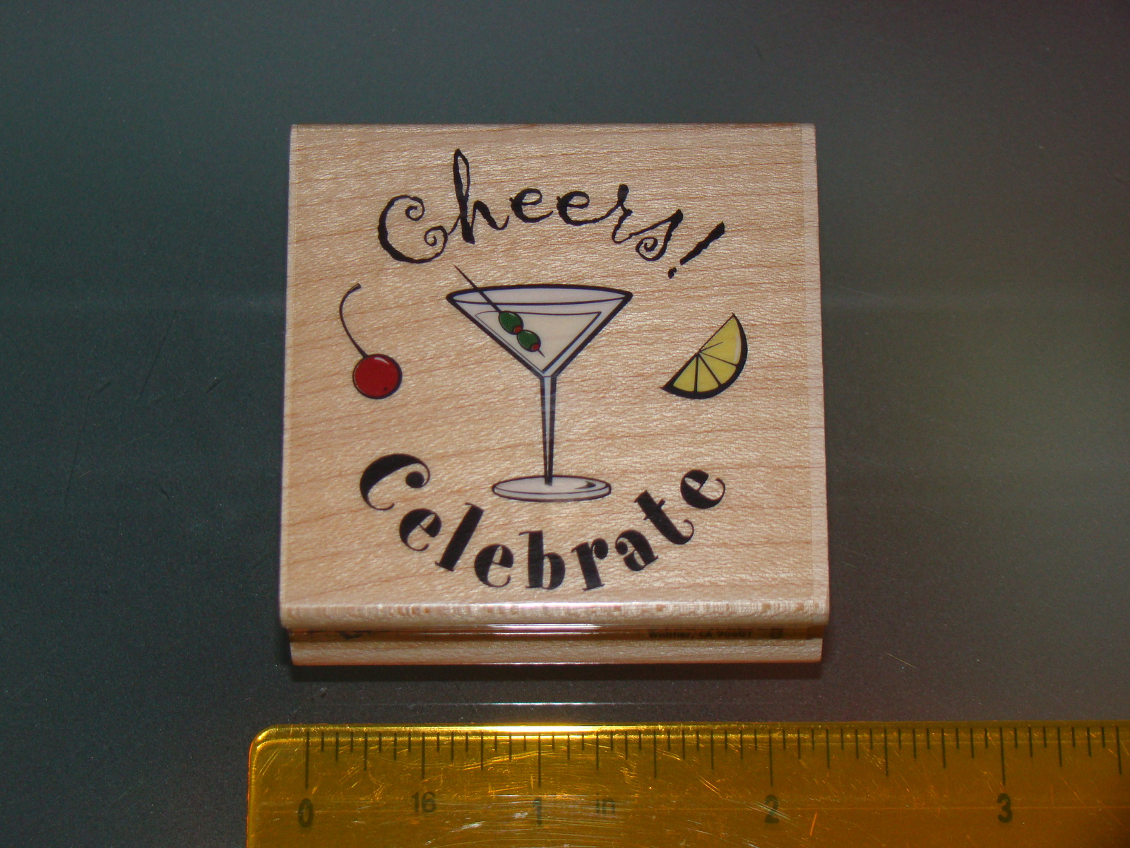 Rubber Stamps - cheers! Celebrate (New)