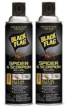 Black Flag Spider and Scorpion Killer Aerosol Spray, 16-Ounce Case Pack ... - $23.81