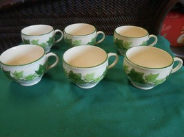 """Great FRANCISCAN """"Ivy"""" Earthware..... Set of 6 CUPS  - $17.41"""