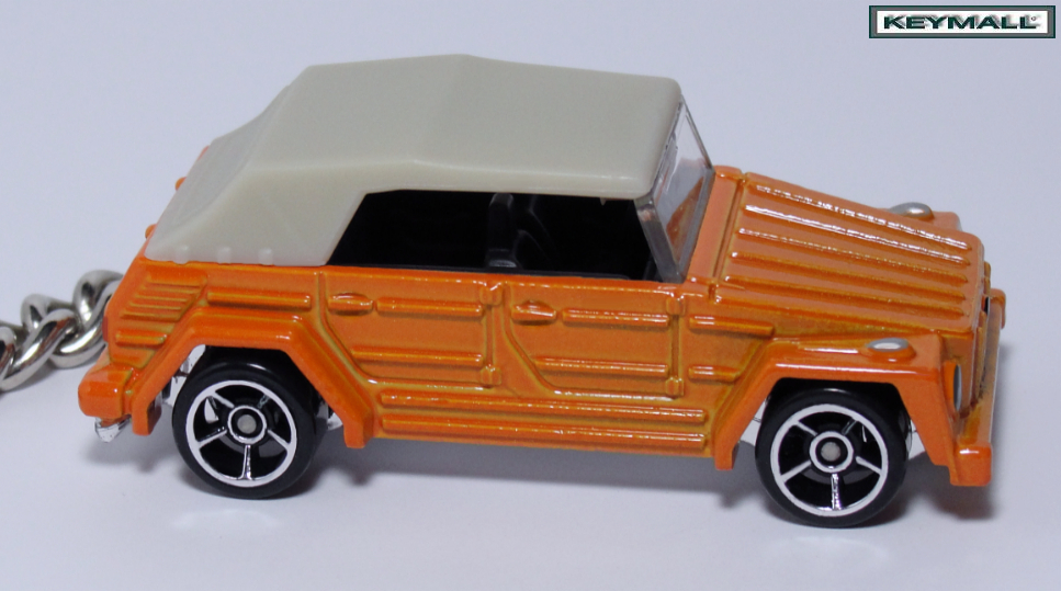 Primary image for KEY CHAIN VW THING TREKKER ORANGE LLAVERO NEW PORTE CLE БРЕЛОК SCHLÜSSELA