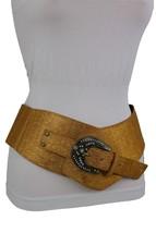 Neu Damen Fancy Gürtel Hip Hohe Taille Breit West Bling Schnalle Mode GR... - $32.29