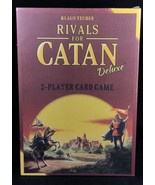 Rivals for Catan Deluxe 2 Player Card Game Klaus Teuber 3134 MADE IN USA... - $24.75