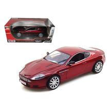 Aston Martin DB9 Coupe Burgundy 1/18 Diecast Model Car by Motormax 73174r - $51.45
