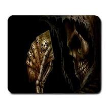 Mouse Pad Skull Play Card Scary Horror Anime Fantasy For Halloween Dark ... - $4.00