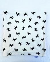 Carter's Deer Reindeer Baby Blanket Black White Cream Security Lovey Elk... - $49.49