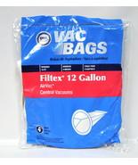 DVC Filtex 12 Gallon Air Vac Central Vacuum Bags - $8.96