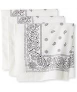 Levi's Men's Printed Bandana Set,White,One Size - $20.37