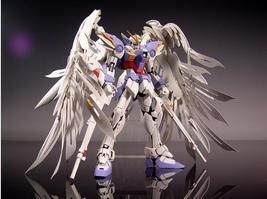 New MG Wing Gundam Action Figure MG028 Zero Wing Fighter Anime Robot 1:1... - $106.00