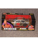 1999 Racing Champions #9 1:24 Scale Die Cast Stock Car WCW Goldberg New ... - $29.99