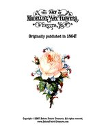 Victorian Wax Flowers Fruits Book Make Work Waxwork1864 - $17.99