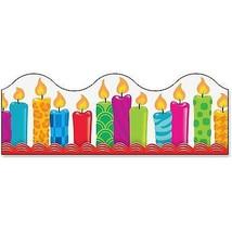 "Trend enterprises, Inc Border, Birthday Candles, 39'Wx2-1/4""H, MI 92855 - $15.90"
