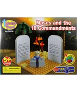 Moses and The 10 Commandments Building Blocks NEW Trinity Toyz Work W/Ot... - $17.12