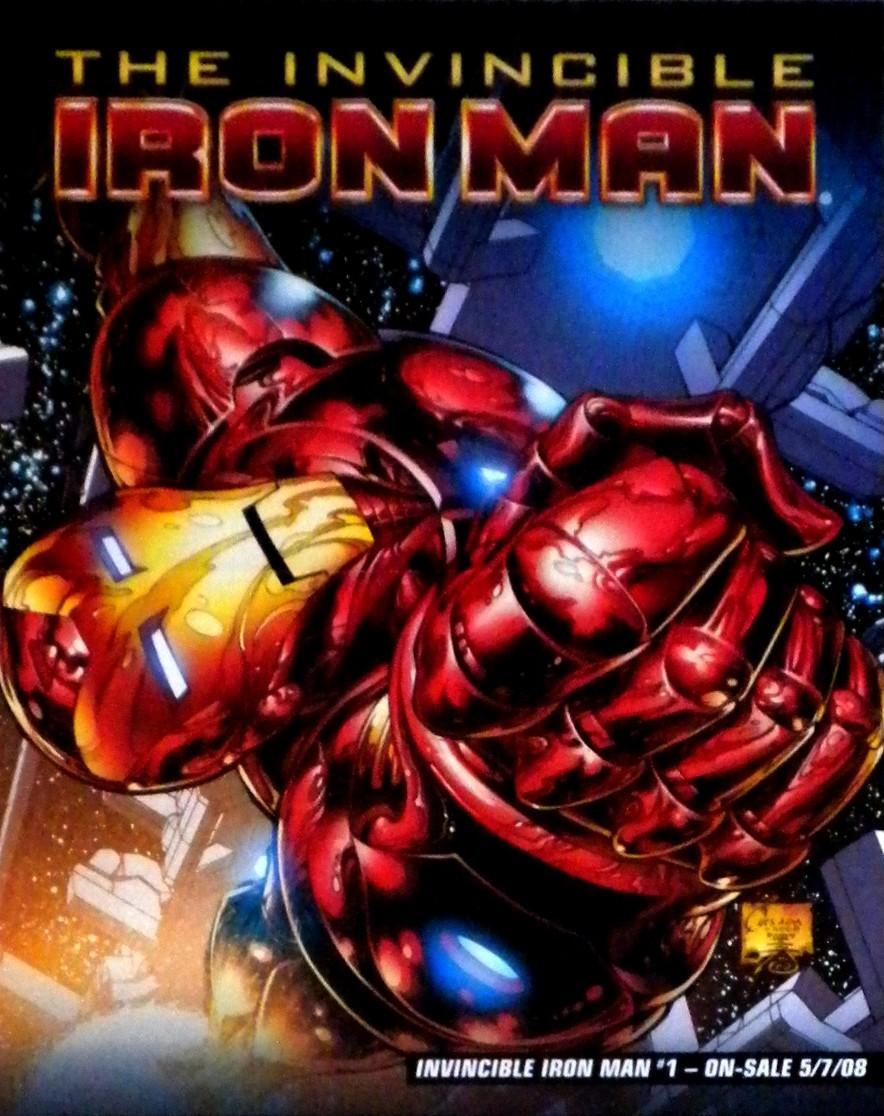 Comx   iron man poster