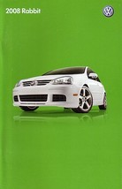 2008 Volkswagen RABBIT sales brochure catalog US 08 VW Golf - $9.00