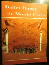 BALLET RUSSE DE MONTE CARLO Souvenir Program 1951-52 (Very Good) Nina Novak - $24.49