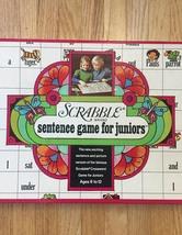 Vintage 1973 Scrabble Sentence Game for Juniors image 2