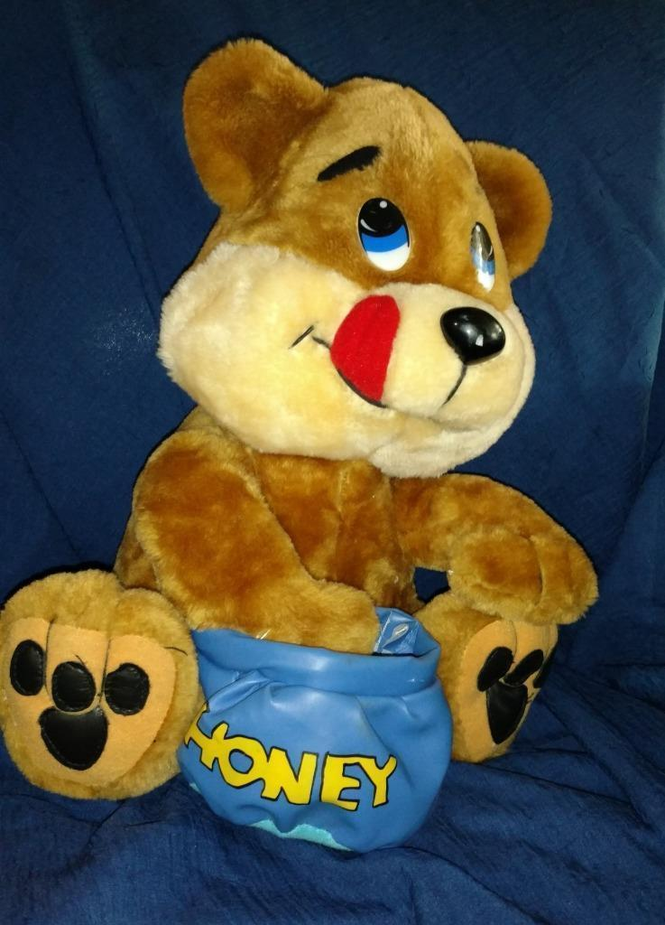 Primary image for Play By Play Honey Bear Stuffed 1997 - Adorable