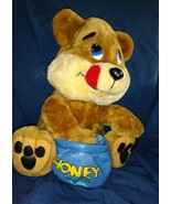 Play By Play Honey Bear Stuffed 1997 - Adorable - $14.97