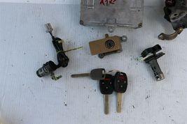 04 Accord v6 ATX ECU ECM Ignition Switch w/Immo Glove Trunk Door Lock & 3 Keys image 4