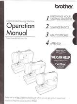 An item in the Crafts category: Brother Computerized Sewing Machine Operation Manual 855-V60 Used