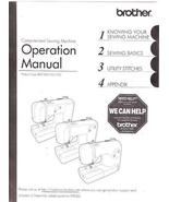 Brother Computerized Sewing Machine Operation Manual 855-V60 Used  - $5.00